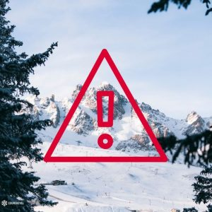 High Avalanche Danger in the Alps With Heavy Snowfall, Rain and Warmth